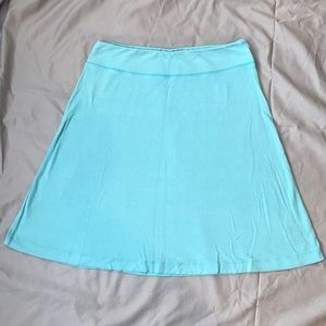 Fresh Produce Turquoise Skirt Sz. Small